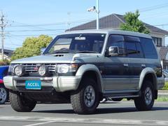 パジェロワイドエクシードI V46WG Dターボ 4WD 7人乗り