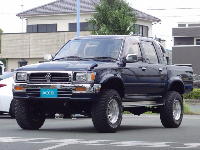 トヨタ Wキャブ SSR LN107改 5速 4WD 公認リフトUP