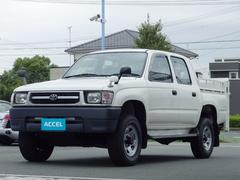 ハイラックスWキャブDX LN167 新明和垂直パワーゲート 4WD5速