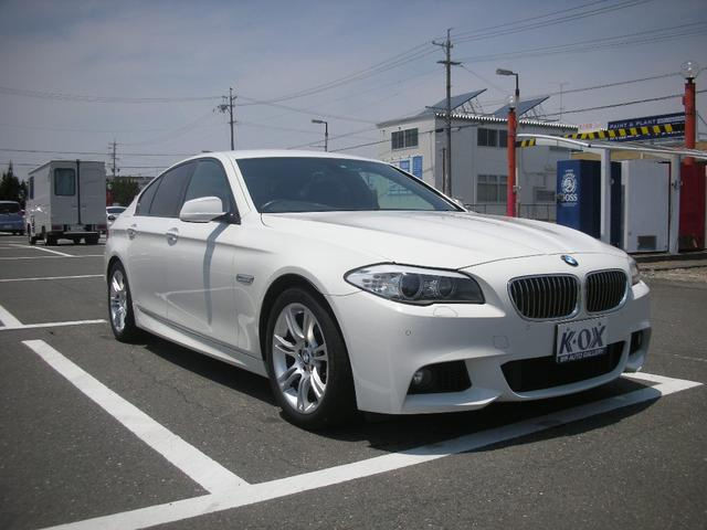 BMW 5シリーズ 523I MスポーツPKG パドルシフト プッ...