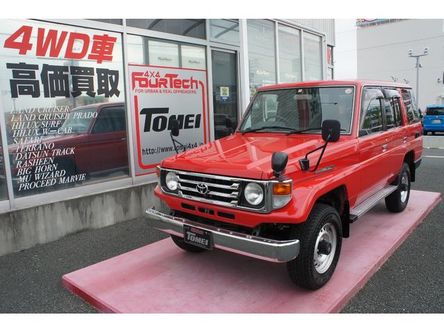 Photo of TOYOTA LAND CRUISER 70 LX / used TOYOTA