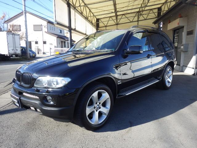 BMW X5 3.0iスポーツPKG 19インチアルミ 地デジSD...