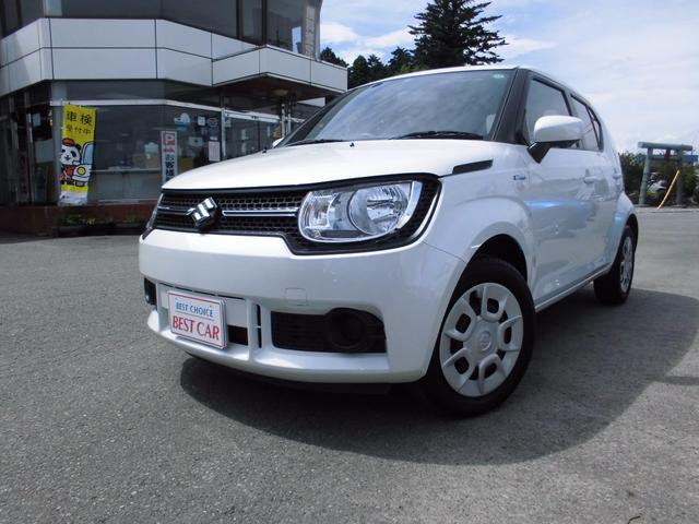 suzuki ignis hybrid mg 2016 pearl white 7 000 km details japanese used cars goo net. Black Bedroom Furniture Sets. Home Design Ideas