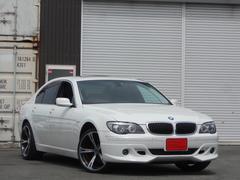 BMW740i 黒革シート 純正18AW サンルーフ ミラーETC