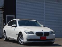 BMW740Li コンフォートPKG  黒革シート 純正HDDナビ