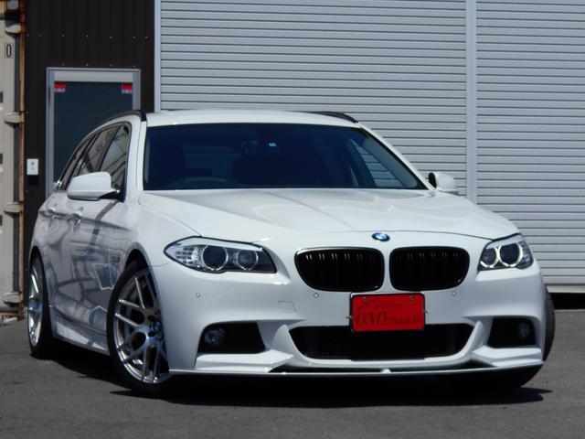 BMW 5シリーズ 523iツーリング M5スタイル (検29.12)