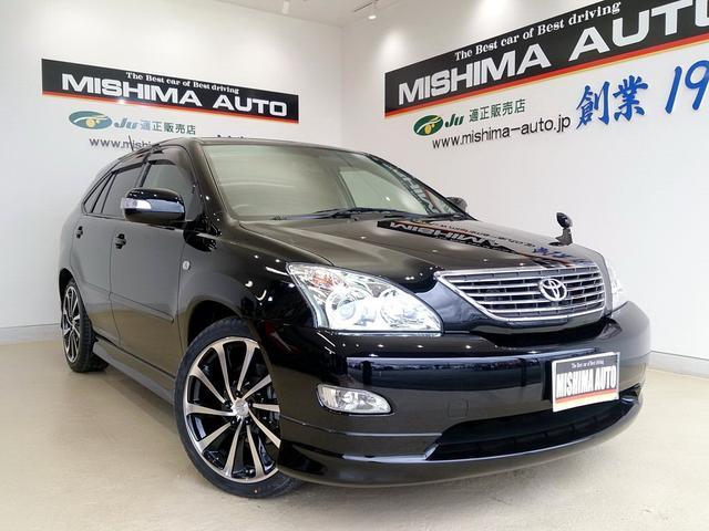 トヨタ G プレミアムLパケ 4WD エアロ黒革 20AW