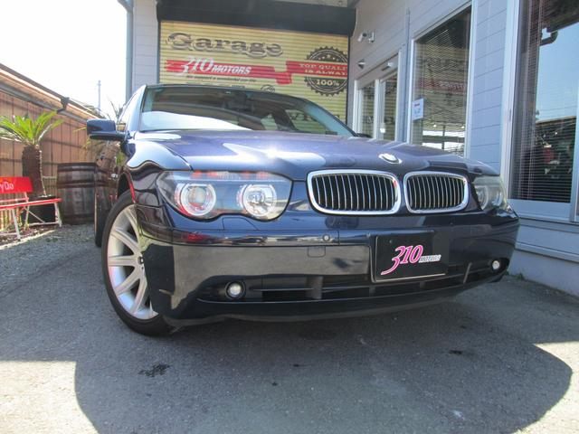 BMW 745i 左ハンドル ディーラー車
