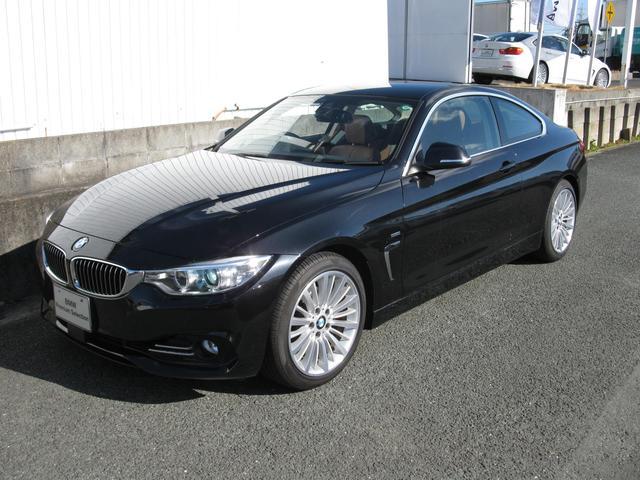 BMW 4シリーズ 420iクーペ ラグジュアリー 新車保証残有 ...