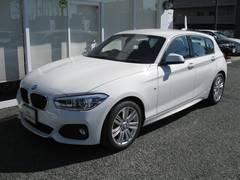 BMW118dMスポ パーキングサポートP 純正HDDナビ 禁煙車