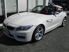 BMW Z4sDrive20iMスポ 新車保証残有 純OP赤レザーシート