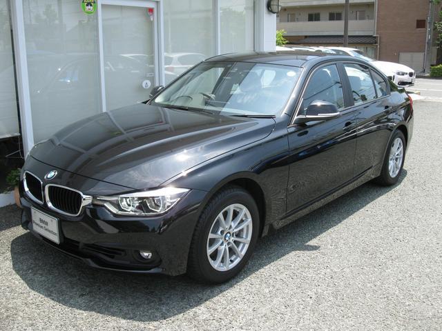 BMW 3シリーズ 318iレーンチェンジ警告灯 新車保証残有 純...
