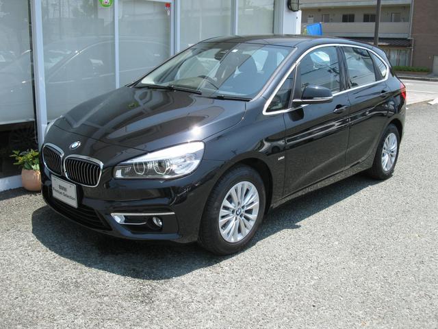 BMW 2シリーズ 218dアクティブツアラーLX 純OP黒レザー...