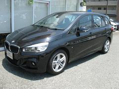 BMW218iグランツアラーMスポ 純OPサードシート新車保証残有