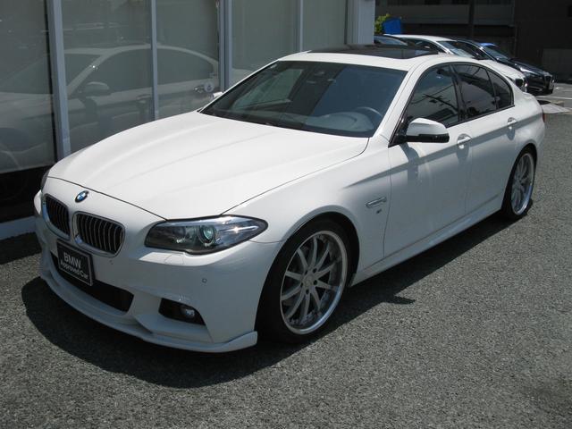 BMW 528iMスポ パドルシフト ドライビングアシスト 電動SR