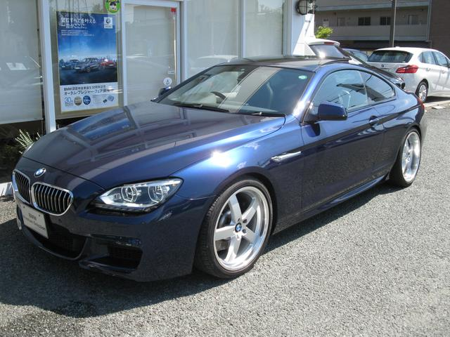 BMW 6シリーズ 640iクーペMスポ アダプティブLED ガラ...