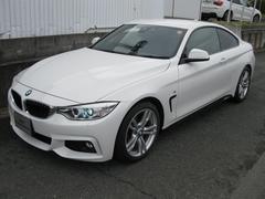 BMW420iクーペMスポ パドルシフト コンフォートアクセス
