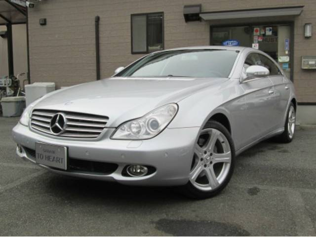 Mercedes benz cls class cls550 2008 silver m 47 000 for Mercedes benz cls used