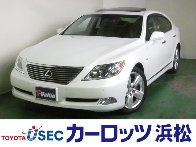 レクサス LS LS460 バージョンS 純HDDナビ サンルーフ...