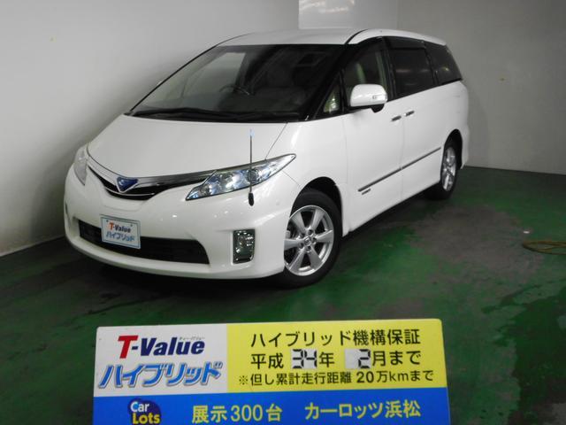 トヨタ G レザーパッケージ 純HDDナビ シートヒーター 1年保証