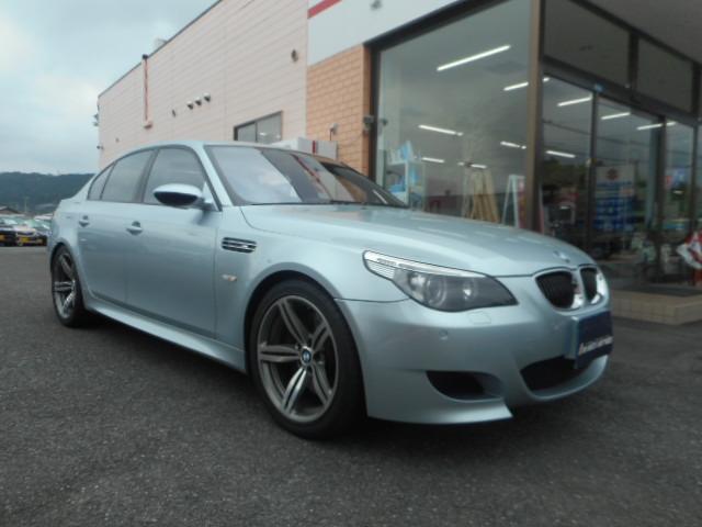 BMW M5 M5 プッシュスタート 禁煙車 BMWディーラー記録...