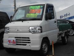 ミニキャブトラックVタイプ 5MT エアコン パワステ 荷台カバー付