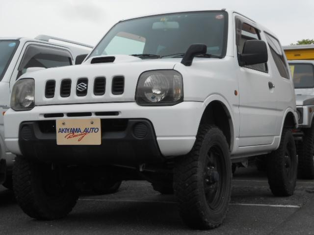 スズキ XG 4WD ターボ 2インチアップ 社外マフラー