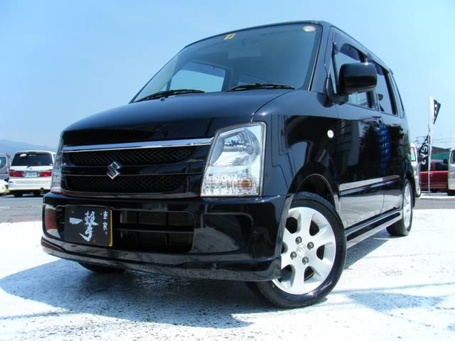 人気のワゴンR ユーザー買取車!!人気のブラック 純正エアロ キーレス 純正CD、MDデッキ 内外装美車