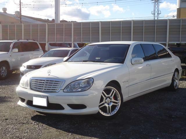 Mercedes benz s class s600l 2007 white 43 000 km for Mercedes benz s600l