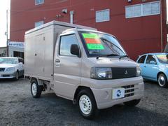 ミニキャブトラック 移動販売車 オートマ エアコン(三菱)