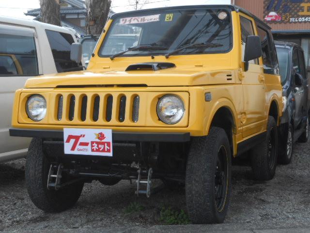 スズキ ワイルドウインドリミテッド 4WD ターボ 2インチアップ