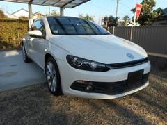 VW シロッコ2.0TSI サンルーフ 純正フルセグHDDナビ 黒革