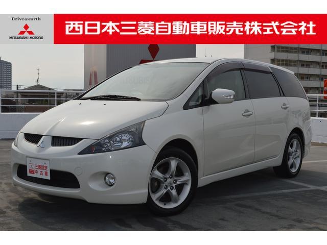三菱 グランディス スポーツX HDDナビ 後席モニター ETC ...