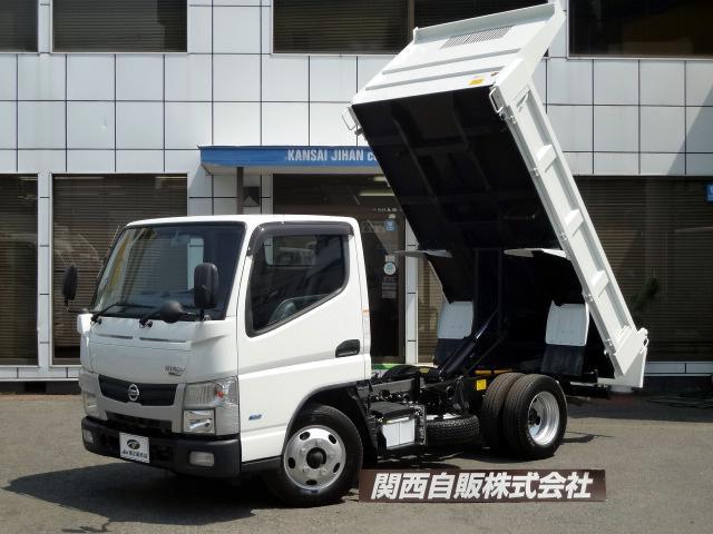 日産 フルスーパーロー強化ダンプ 3t NOX適合
