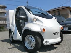 日本 ベースグレードコムス EV車 ミニカー登録 リアBOX付き(日本その他)