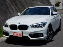 BMW120iスポーツ MC後モデル LEDヘッドライト 禁煙車