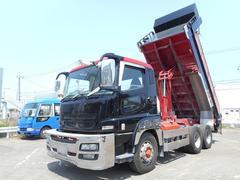 スーパーグレートダンプ 積載8100kg 新明和 420ps エンジンOH済