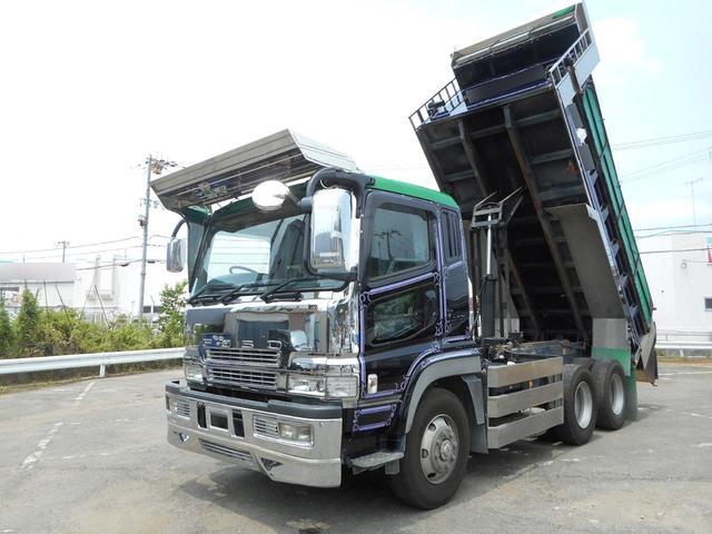 三菱ふそう スーパーグレート ダンプ 積載9400kg 新明和 3...