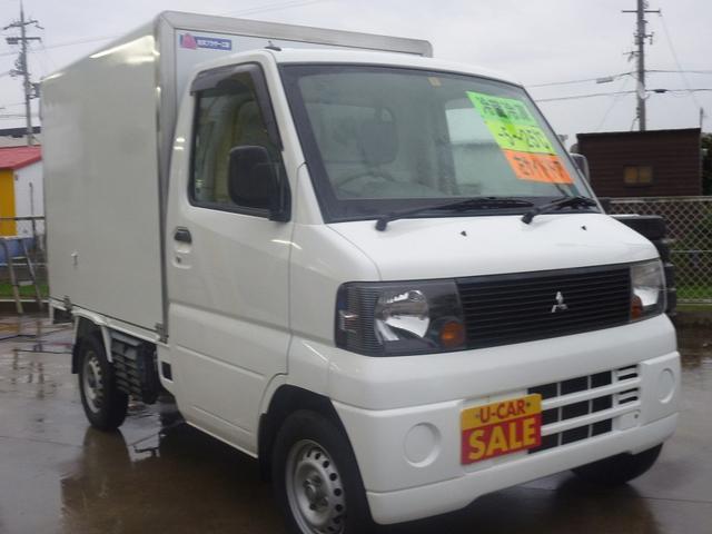 三菱 ミニキャブトラック 冷蔵冷凍 AC PS エアB付 左サイド...