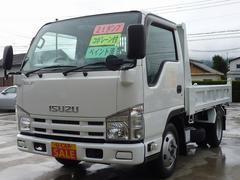 エルフトラック低床ダンプ フル装備 塗装済 ターボ車 150馬力