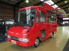 クイックデリバリー 移動販売車8ナンバー ナポリピザ窯仕様 NOXPM適合(トヨタ)