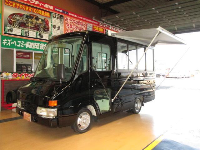 トヨタ 移動販売車8ナンバー ラーメン屋さん厨房仕様 NOXPM適合