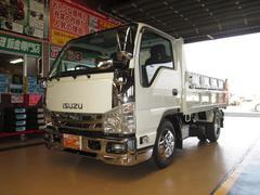 エルフトラックSGターボ全低床強化ダンプ3tメッキコボレーンリヤダムピン