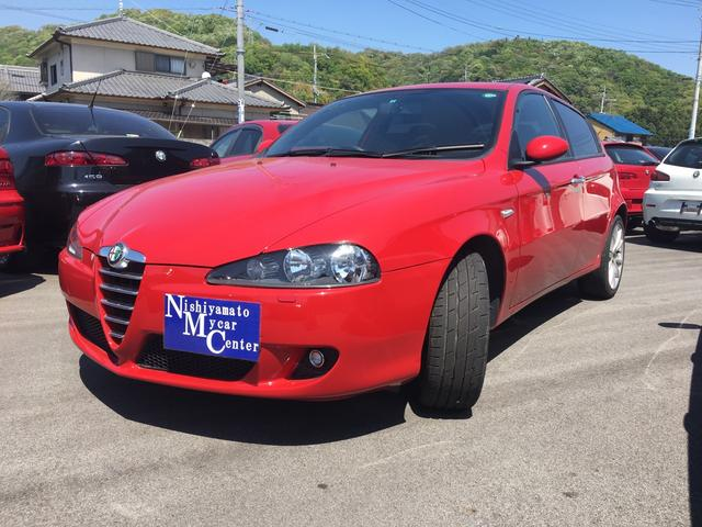 alfa romeo alfa 147 ti 2 0 twin spark selespeed 2006 red 41 417 km details japanese. Black Bedroom Furniture Sets. Home Design Ideas