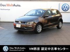 VW ポロ40thエディション 純正SDナビ リアカメラ 新車保証継承