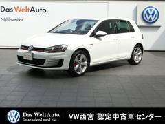 VW ゴルフGTIベースグレード ガイド&インフォーム ACC リアビュー