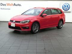 VW ゴルフヴァリアントTSI Rライン ACC 登録済み未使用車 リアビューカメラ