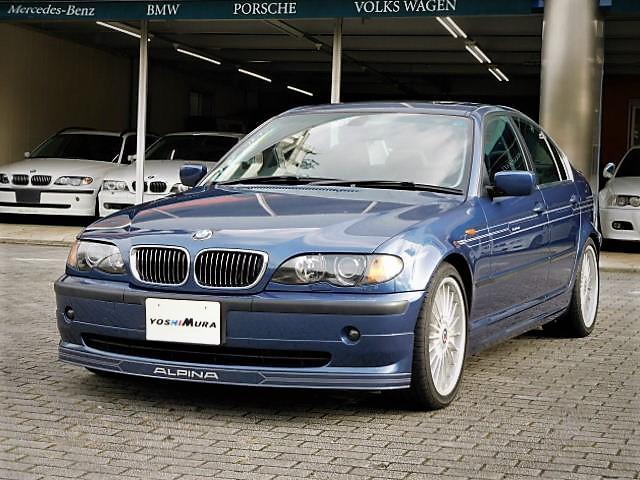 BMWアルピナ B3S 3.4リムジン スイッチトロニック 右H 黒革シート