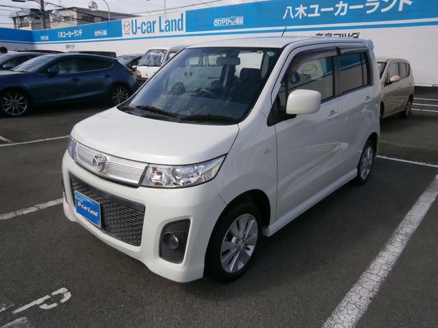 マツダ AZワゴンカスタムスタイル XS 純正アルミ CD HID...