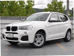 BMW X3xDrive 20d MスポーツレザーシートヒータHDDナビ